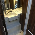 Motorhome shower